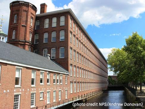 Boot Cotton Mill, Lowell Massachusetts